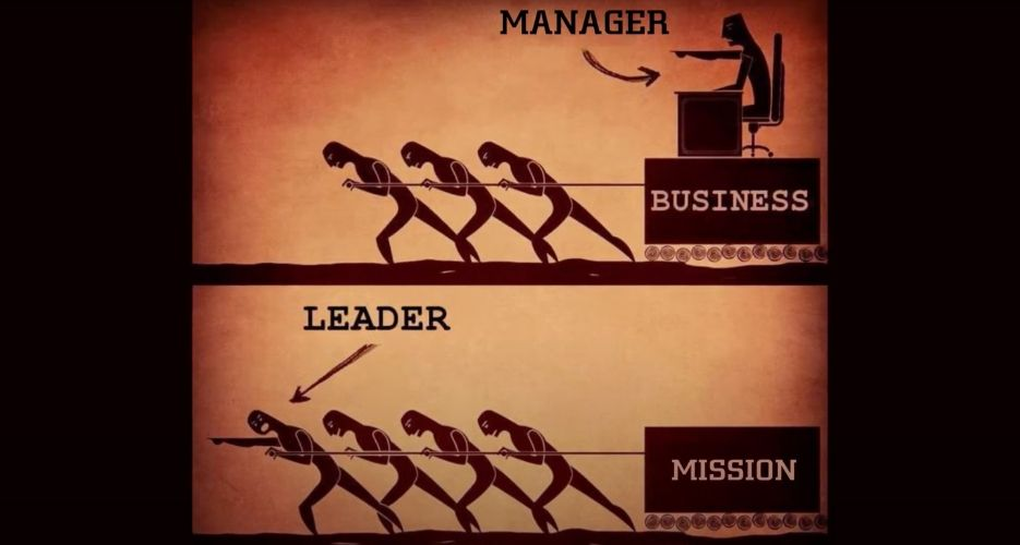 leadership of mission vs managing a business